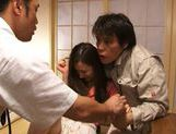 Group action with sexy and sophisticated chick Kaori Saejima picture 2