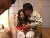 Group action with sexy and sophisticated chick Kaori Saejima picture 3
