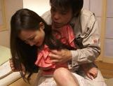 Group action with sexy and sophisticated chick Kaori Saejima picture 4