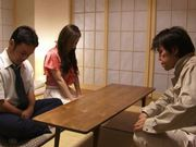 Group action with sexy and sophisticated chick Kaori Saejima
