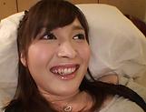 Mizuho Uehara fingering her succulent muff picture 14