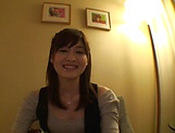 Mizuho Uehara fingering her succulent muff