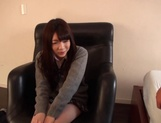 Delicious Japanese schoolgirl Aisu Kokoa gets toyed and fucked doggy-style