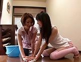 Sena Ryou and Saotome Rabu enjoy a it lesbo picture 12