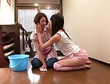 Sena Ryou and Saotome Rabu enjoy a it lesbo picture 13