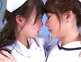 Hazuki Nozomi enoys a nasty lesbo action picture 12