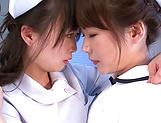 Hazuki Nozomi enoys a nasty lesbo action picture 13