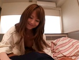 Naughty Asian milf, Akiho Yoshizawa in pov blowjob action