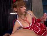 Riho Hasegawa alluring Asian babe exposes nice ass picture 4