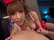 Riho Hasegawa alluring Asian babe exposes nice ass