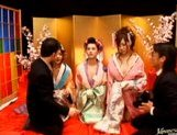 Maria Ozawa and other Japanese models are having an orgy picture 3