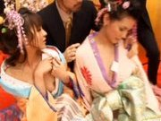 Maria Ozawa and other Japanese models are having an orgy