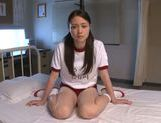 Lustful teen Yuri Hasegawa adores breathtaking sex play picture 2