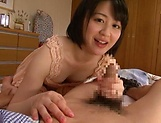 Hot chick Erina Nagasawa enjoys being drilled and filled