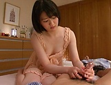 Hot chick Erina Nagasawa enjoys being drilled and filled picture 12