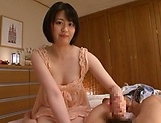 Hot chick Erina Nagasawa enjoys being drilled and filled picture 14
