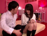 Young Akane Azusa gets fucked by horny teacher picture 1