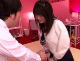 Young Akane Azusa gets fucked by horny teacher