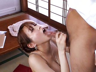 Rauchy Minami has her pussy drilled deep