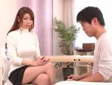 Doggy-style sex with sexy babe Yuuka Minase picture 1