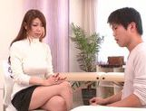 Doggy-style sex with sexy babe Yuuka Minase picture 2