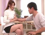 Doggy-style sex with sexy babe Yuuka Minase picture 5