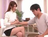 Doggy-style sex with sexy babe Yuuka Minase picture 6