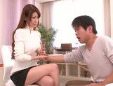 Doggy-style sex with sexy babe Yuuka Minase picture 7