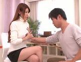 Doggy-style sex with sexy babe Yuuka Minase picture 8