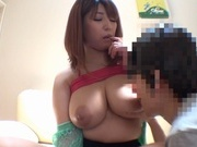 Sexy Asian lady with big tits and ass  Naho Hazuki rides cock on povasian pussy, horny asian, hot asian pussy}
