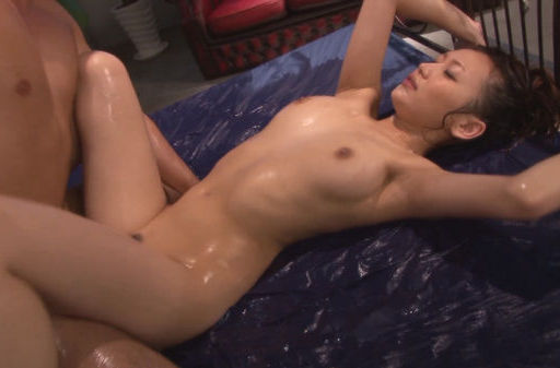 Adorable Nana Konishi gets deep pounded in threesome