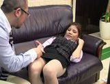 Vibrator for a sexy babe in hot office suit picture 15