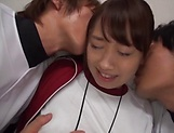 Seductive Miina Arimura enjoys when she is pussy poked picture 4