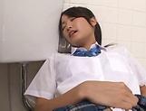 A steamy cunnilingus for a gorgeous babe Ai Yuzuki