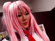 Japanese cosplay porn scenes with Momoka Nishina