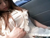 Crazy Japanese milf Akiho Yoshizawa is mad about car sex picture 9