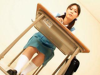 Nao Mizuki Japanese babe enjoys super cosplay games
