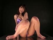 Stunning squirting masturbation by Hibiki Ohtsuki
