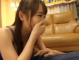 Charming brunette Mao Kurata seduces a hunk stud