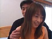 Hikaru Hozuki nailed by two hunky dudes