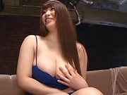 Saegusa Chitose superb anal play with toys and dildos