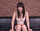 Ai Uehara gasps during a kinky ass insertion picture 13