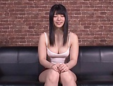 Ai Uehara gasps during a kinky ass insertion