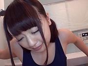 Sweet Tsujii Yuu enjoys a nasty ass insertion