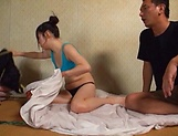 Hikaru Kawana rides a huge cock superbly picture 9