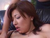 Lovely honey Yuria Misaki banged and gets a facial