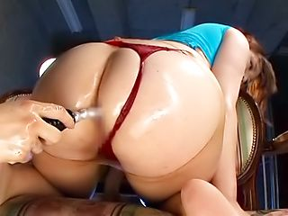 Amazing Asian anal toy porn with superb Saegusa Chitose