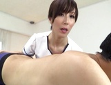 Reiko Sawamura enjoys dominating this lad picture 12
