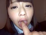 Tsujii Yuu showing off her luscious beavers