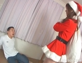 Anna Watase Costume Santa Fuck Japanese babe Is A Genuine Ho Ho Ho! picture 12